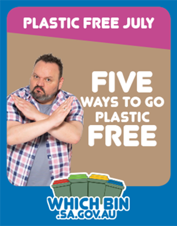 Five ways to go plastic free for July and hopefully beyond!