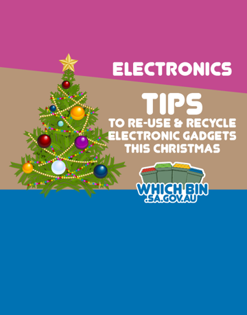 Let's avoid, reduce and reuse waste this Christmas!