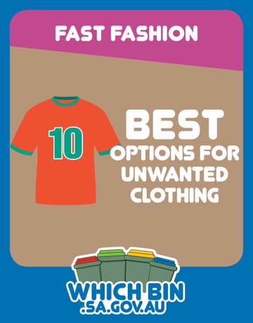 Why waste your old clothing? Is donating it to charity really the best option?