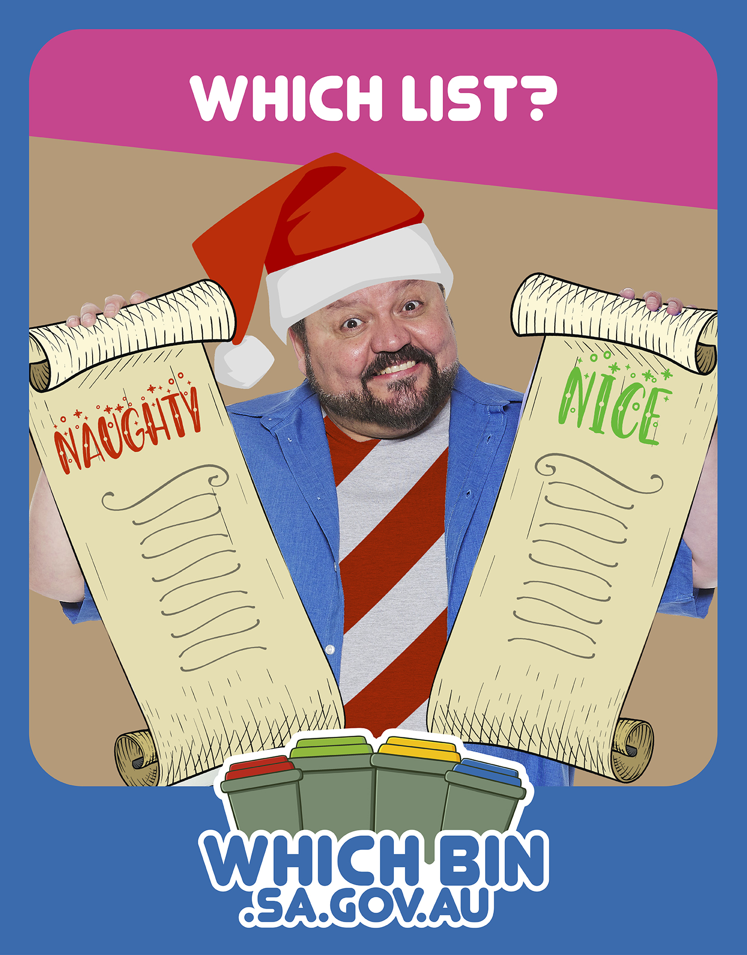 Christmas Which List - Naughty or Nice?