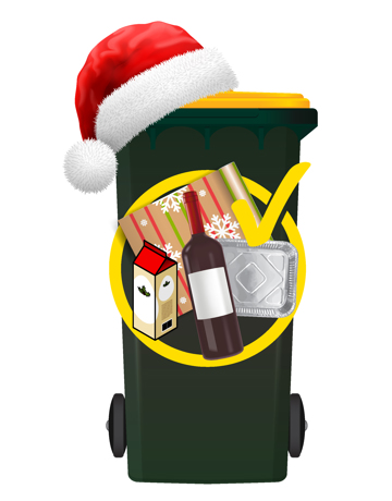 Remember to recycle it! Most gift, drink and food packaging can be recycled.