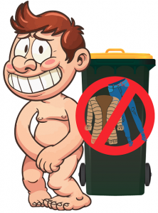 No clothes in Recycle bin