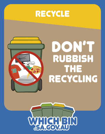 Don't let contamination make your recyclables go to waste